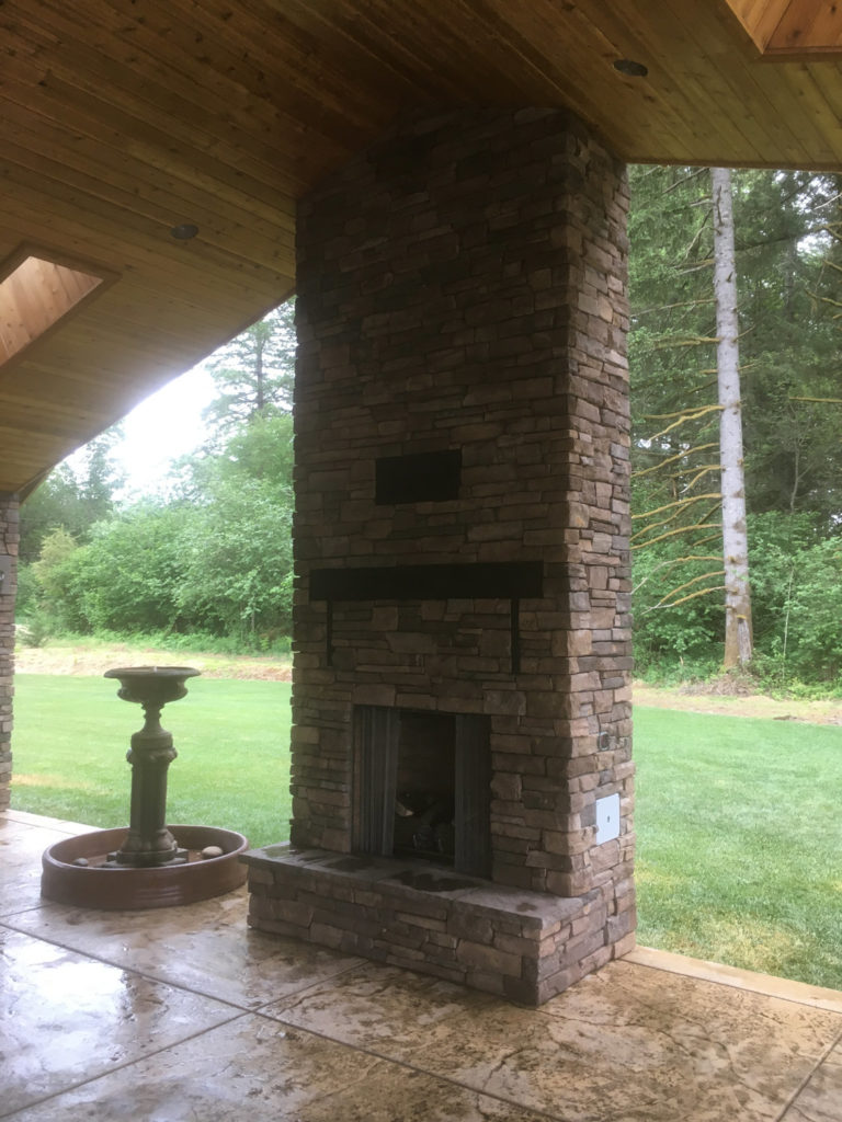 Fireplace in Vancouver Washington