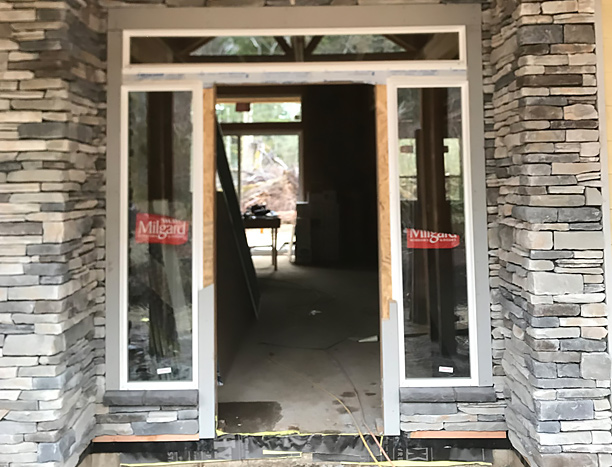 Masonry entry in vancouver washington